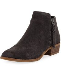 Dolce Vita - Shelly Classic Low-heel Booties - Lyst