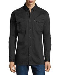 Wesc | Olaf Cotton Workwear Shirt | Lyst