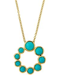 Ippolita - 18k Lollipop® Spiral Pendant Necklace In Turquoise - Lyst
