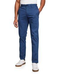 Original Penguin Men's Essential Core Straight-leg Chino Pants - Blue
