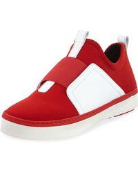 Stuart Weitzman - Wayfare Neoprene Two-tone Sneakers - Lyst