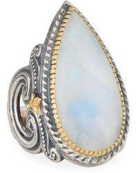 Konstantino - Erato Labradorite Teardrop Ring - Lyst