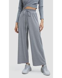 Lattelier Step One High-waisted Sweatpants - Gray