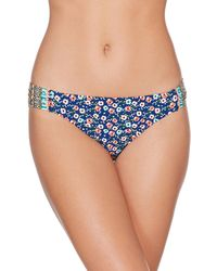 Laundry by Shelli Segal - Tab Side Hipster Bottom - Lyst