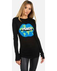Lauren Moshi Mckinley X World Peace Lips - Black