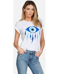 Lauren Moshi Croft Electric Evil Eye - White