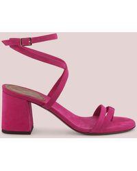 L'Autre Chose Sandalo Con Listini Incrociati - Rosa