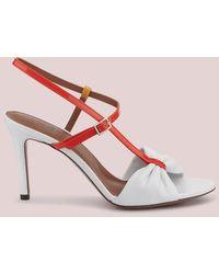 L'Autre Chose Sandalo Alto In Pelle - Rosa