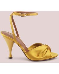 L'Autre Chose Sandalo In Raso - Multicolore