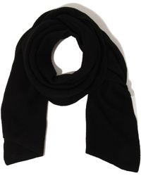 Lavish Alice - Black Textured Scarf - Lyst