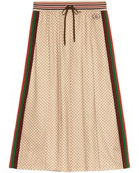 Gucci Skirts Beige - Natural