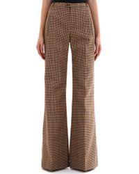 Balenciaga - Brown Trousers - Lyst