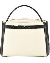 Valextra New Brera Medium Bag - White