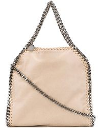 Stella McCartney Tiny Falabella Tote Bag - Natural