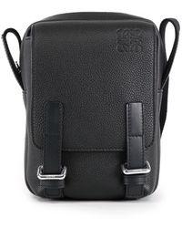 Loewe Xs Military Crossbody Bag - Black