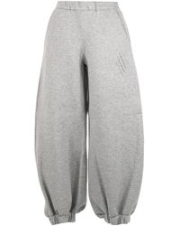 The Attico Ay Carter Sweatpants - Gray