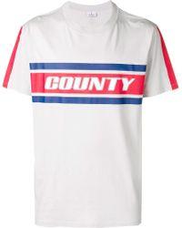 Marcelo Burlon Colour Band T-shirt - White