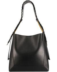 Stella McCartney Medium Hobo Bag - Black