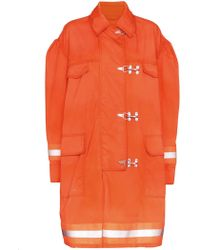 CALVIN KLEIN 205W39NYC Jacket Fireman Orange