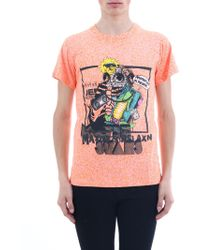 Jeremy Scott - T-Shirt con stampa - Lyst
