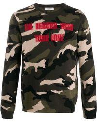 Valentino - Military Sweater - Lyst