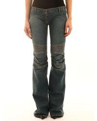 Balmain Jeans a Zampa - Blu
