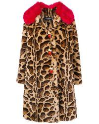 Dolce & Gabbana - Cappotto Animalier - Lyst