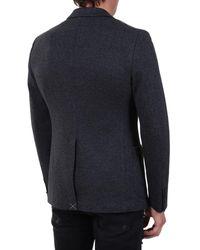 Tonello Single-breasted Jacket Gra - Grey