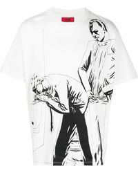 424 Printed T-shirt - White