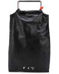 Off-White c/o Virgil Abloh Allen Leather Bag Black
