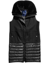 Fay Quilted Vest - Black