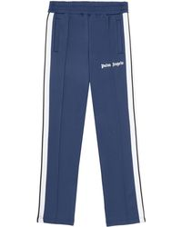 Palm Angels Logo Track Pants - Blue