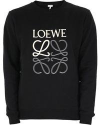 Loewe Monogram Swatshirt - Black