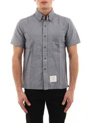 Thom Browne Light Blue Shirt