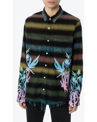 Amiri Mulkticolor Printed Shirt - Multicolor