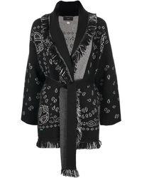 Alanui Cachemire Jacket - Black
