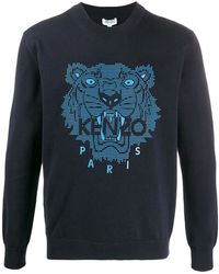 KENZO Sweater Tiger Blue