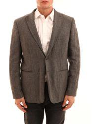 Tonello Grey Jacket - Gray