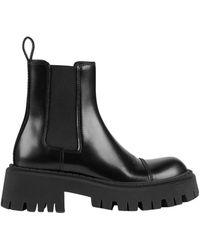 Balenciaga Tractor Boot Black