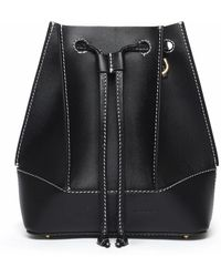 Elleme Canalè Bucket Bag - Black