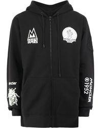 2 Moncler 1952 Sweatshirt With Logo - Black