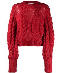 Stella McCartney Red Sweater