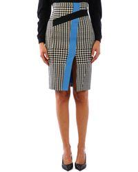 Emanuel Ungaro Pencil Skirt - White