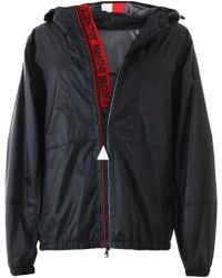 31a4637b1 Moncler Athenes Hooded Puffer Jacket in Black for Men - Lyst