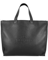 Valentino Garavani Identity Shopping Bag - Black