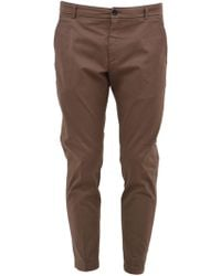 Department 5 Walnut Tailored Trousers - Natural