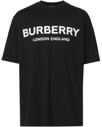 Burberry Logo T-shirt Black