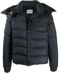 Moncler Aubrac Down Jacket Blue
