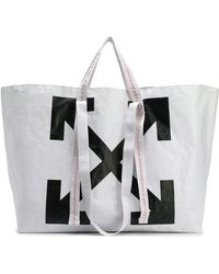 Off-White c/o Virgil Abloh - White Arrows Tote Bag - Lyst