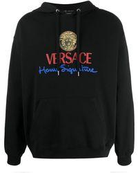 Versace Sweatshirt Signature Black